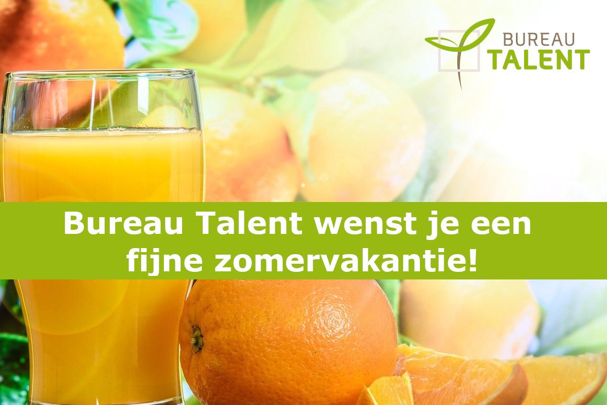 Zomervakantie Bureau Talent
